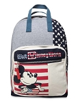 Disney Backpack Bag - Mickey Mouse Americana - Stars & Stripes