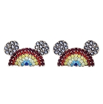 Disney Earrings Set - Rainbow Mickey Mouse