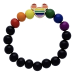 Disney Stretch Bracelet - Rainbow Mickey Mouse