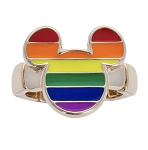 Disney Stretch Ring - Rainbow Mickey Mouse