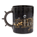 Disney Coffee Mug - Pirates of the Caribbean - Gold Foil