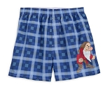 Disney Boxer Shorts for Men - Grumpy - Plaid