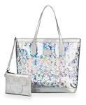 Disney Loungefly Tote Bag - Mickey Mouse Magic Mirror Metallic