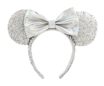 Disney Ears Headband - Minnie Mouse Sequined - Magic Mirror Metallic