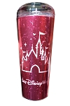 Disney Travel Tumbler - Castle - Imagination Pink