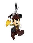 Disney Figurine Ornament - Mickey Pirate - Pirates of the Caribbean
