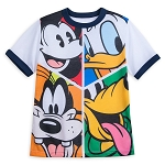 Disney Shirt for Boys - Mickey Mouse and Friends Pop Art