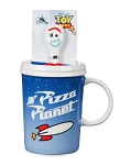 Disney Coffee Mug with Spoon - Pizza Planet and Forky - Toy Story 4