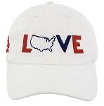 Disney Hat - Baseball Cap - Epcot - I LOVE the U.S.A