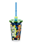 Disney Tumbler with Straw - Toy Story Crew with Alien Straw