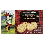 Disney Shortbread Rounds - Mickey Chocolate Chip Cookies - 2.0 oz