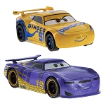 Disney Pullback Toy - Disney Cars - Cruz Ramirez and Daniel Swervez