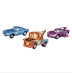 Disney Pullback Toy Set - Disney Cars - Secret Agents - Set of 3