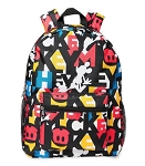 Disney Backpack Bag - Mickey Mouse - Mickey Motifs