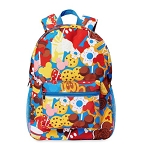 Disney Backpack Bag - Disney Parks Food Icons
