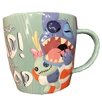 Disney Coffee Mug - Stitch - Mornings Bad, Coffee Good
