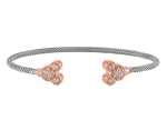 Disney Rebecca Hook Bracelet - Mickey Mouse Icons - Rose Gold