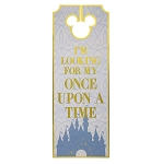 Disney Door Hanger - Castle - I'm Looking for My Once Upon a Time