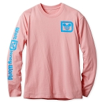 Disney Long Sleeve Shirt for Adults - Walt Disney World Logo - Pink