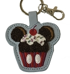 Disney Keychain - Mickey Mouse Cupcake - Sweet Treat