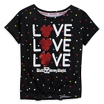 Disney Shirt for Girls - Minnie Mouse Reversible Sequin - LOVE