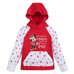 Disney Hooded Shirt for Toddlers - Minnie Mouse - Who Needs a Crown