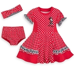 Disney Dress Set for Baby - Minnie Mouse Dots - 3 Piece - Red