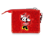 Disney Kids Wallet - Minnie Mouse Glitter - Red