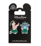 Disney Lilo & Stitch Pin Set - Lilo & Stitch Hula