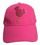 Disney Hat - Baseball Cap - Mickey Ice Cream Bar - Jeweled