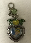 Disney Dangle Charm - Charmed in the Park - Cinderella Heart