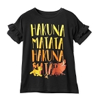 Disney Shirt for Girls - The Lion King - Hakuna Matata
