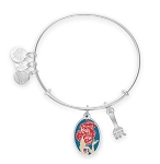 Disney Alex & Ani Bracelet - Ariel and Dinglehopper - Silver
