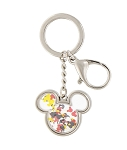 Disney Keychain - Mickey Mouse Icon Confetti