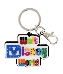 Disney Keychain - Walt Disney World Logo - Colorful