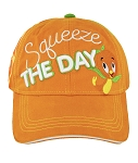 Disney Hat - Baseball Cap - Orange Bird - Squeeze the Day