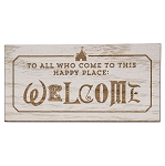 Disney Magnet - Welcome - To All Who Come to This Happy Place