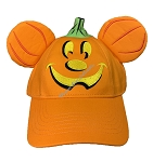 Disney Hat - Baseball Cap - Halloween Mickey Pumpkin - Adult Light Up