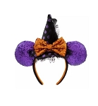 Disney Ears Headband Hat - Halloween - Minnie Mouse Witch