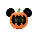 Disney Halloween Candy Bowl - Mickey Mouse Pumpkin - Large Ceramic