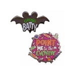 Disney Halloween Pin Set - Going Batty and Point Me to the Candy