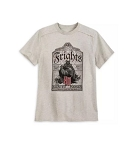 Disney Shirt for Men - The Haunted Mansion Headstone - Gray