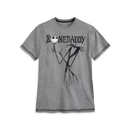 Disney Shirt for Men - Jack Skellington - Bone Daddy - Gray