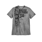 Disney Shirt for Men - Jack Skellington - Jack is Back - Gray