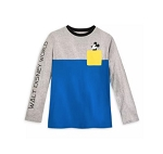 Disney Long Sleeve Shirt for Men - Mickey Blocked - Walt Disney World