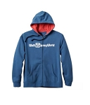 Disney Zip Hoodie for Men - Walt Disney World Logo - Blue