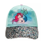 Disney Hat - Baseball Cap - Ariel - Make Waves - Sparkle
