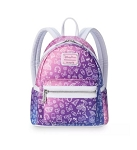 Disney Loungefly Backpack - Disney Parks Icons - Pink and Purple