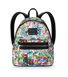 Disney Loungefly Backpack - Disney Parks Collage - Mini