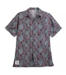 Disney Button Up Shirt for Men - 2019 Food and Wine Festival - Gray